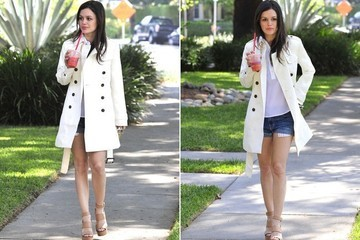 Found: Rachel Bilson's Cute Spring Trench