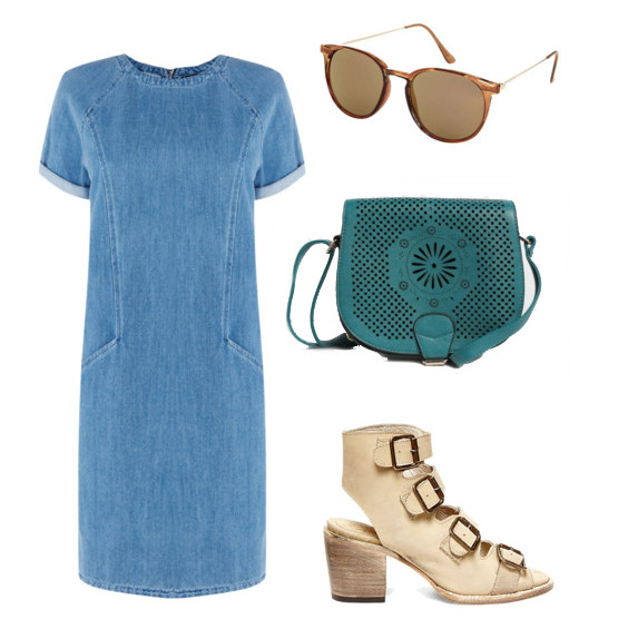 Denim Dress for Play