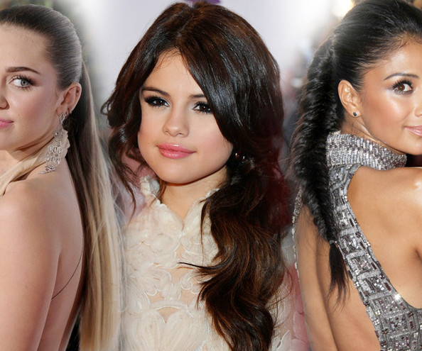Hollywood's Pretty Ponytails
