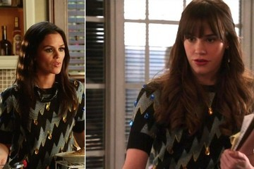 Seeing Double: The Designer Blouse TV Stars Love