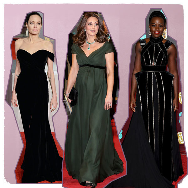 The Most Stunning Looks from the 2018 BAFTA Awards