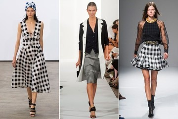 Big Spring Trend: Black and White Gingham