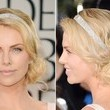 Charlize Theron's Side-Swept Marcel