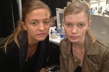 Milly by Michelle Smith Spring 2013 Show Report: Get the Beauty Look + Ryan Lochte, Again