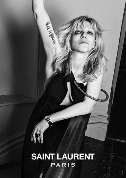 Saint Laurent Continues Mission to Be Most 90's Brand Ever, Casts Courtney Love