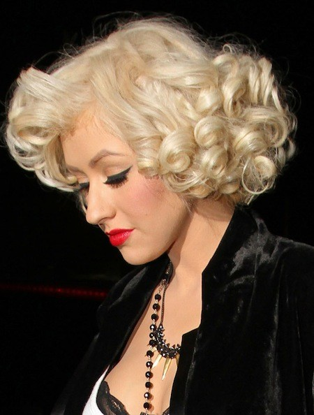 Christina Aguilera Cutest Celebrity Curly Hairstyles