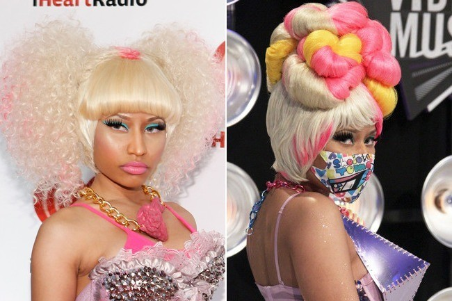 See Nicki Minaj Without The Wacky Wigs And Hair Extensions