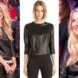 Julianne Hough's Leather Top on 'American Idol'