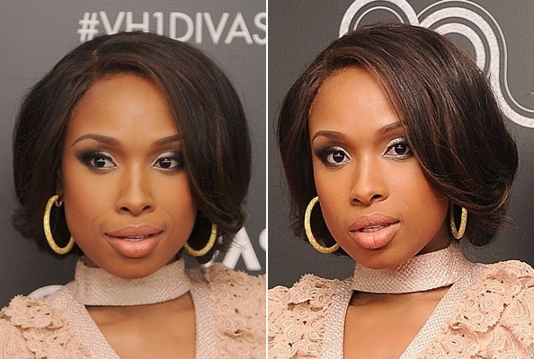 Jennifer Hudson's Enchanting Updo