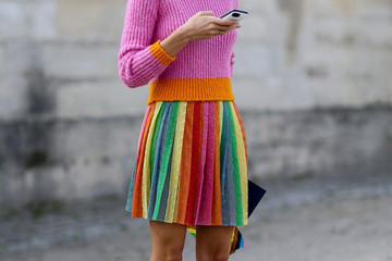 What to Wear: With a Pleated Skirt