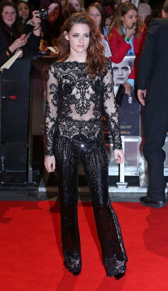 Kristen Stewart at the 'Twilight Saga: Breaking Dawn - Part 2' London Premiere