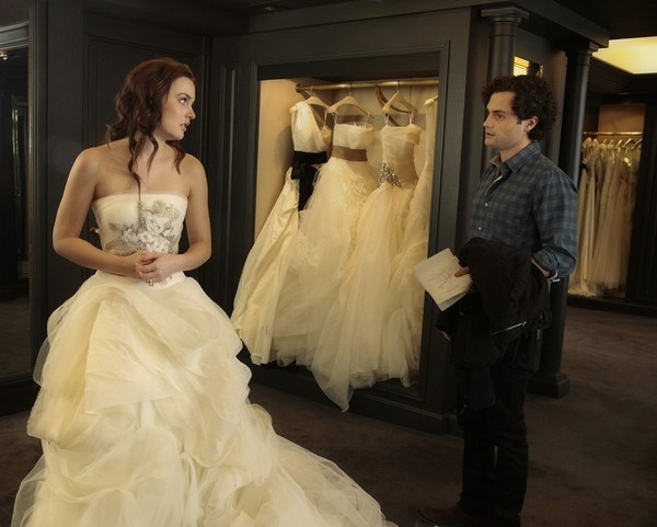 Blair Tries On Her (First) Wedding Gown at Vera Wang