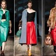 Prada's Strategic Color-Blocking