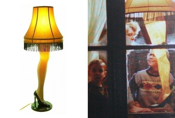 The Leg Lamp In A Christmas Story Tv Fashion Roundup