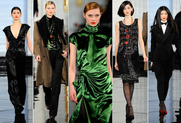 Ralph Lauren Collection Fall 2011: Eastern Infusion