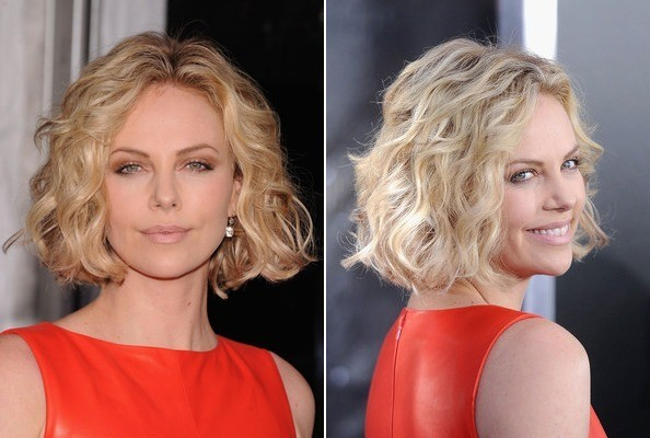 Charlize Theron The Best Short Hairstyles For Prom Stylebistro