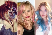 The Prettiest Rainbow Hairstyles From Our Favorite Celebrities