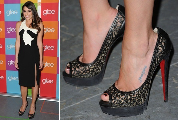 Lea Michele at the 2011 'Glee' Academy Screening