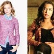 A Pink Tweed Zip-Up Jacket Like Naya Rivera's on 'Glee'