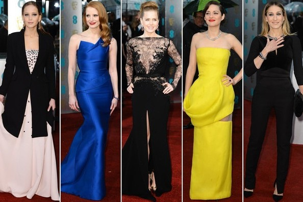 BAFTA Awards 2013 - Best & Worst Dressed