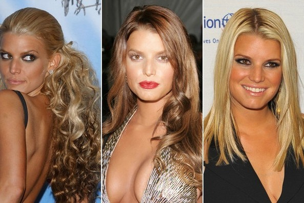 Jessica Simpson's Hair Transformation