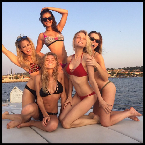 Nina Dobrev Has A Bikini Party The Week S Most Stylish