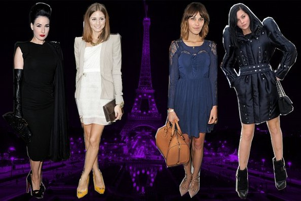 The Most Stylish Stars at Paris Fashion Week