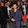 Taylor Lautner at the 'Twilight Saga: Breaking Dawn - Part 2' London Premiere