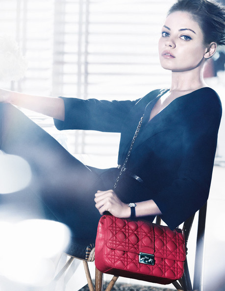 Mila Kunis Is the New Face of Dior