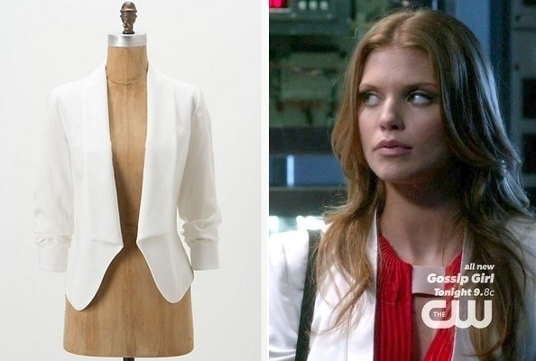 AnnaLynne McCord's White Blazer on '90210'