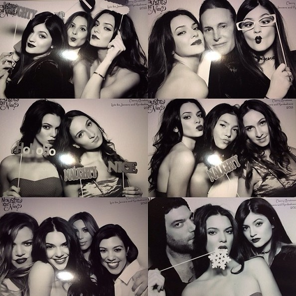 The Kardashian/Jenners Had Some Photobooth Fun