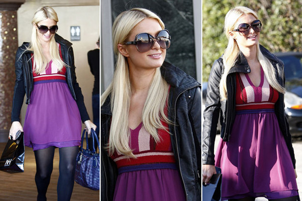 Paris Hilton Wears Petro Zillia for Forever 21