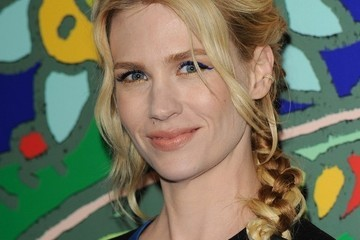 We Can't Stop Staring At January Jones's Braid