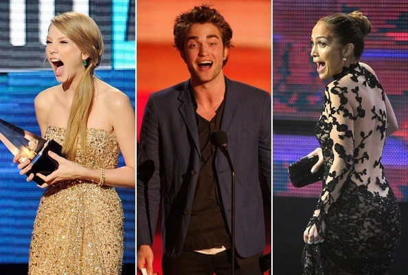 Celebs Looking Shocked at Awards Shows