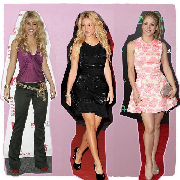 The Style Evolution of Shakira