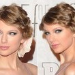 Taylor Swift's Pinned-Up Spiral Curls