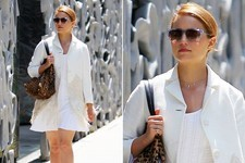 Dianna Agron's Stylish Lunch Look