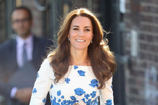 Look of the Day: Kate Middleton's Floral Midi