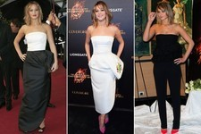 Jennifer Lawrence's Weekend Was Full of Side-Ruffles