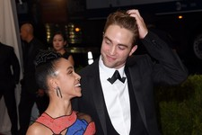 Robert Pattinson and FKA Twigs Make Their First Red Carpet Appearance Together