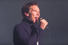 Try Not to Melt While Watching Benedict Cumberbatch Sing 'Comfortably Numb'