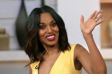 Kerry Washington Brightens Up 'GMA'