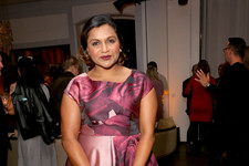 Look of the Day: Mindy Kaling's Flirty in Florals