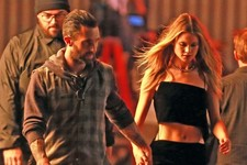 Adam Levine and His Wife Shoot A Sexy Music Video