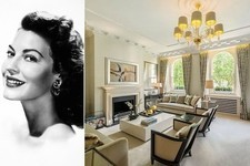 Ava Gardner's Ladylike London Flat