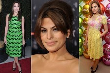 Eva Mendes's Ladylike Flair