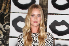 Rosie Huntington-Whiteley Loves Fine Art