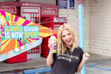 Ashley Benson Is Super Stoked on Her Slurpee