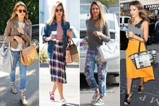 Celebrate Jessica Alba's Birthday with Her Top Street Style Outfits