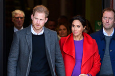 Meghan's On-Point Color Blocking